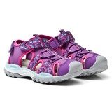 Geox Purple Velcro Water Friendly Borealis Sandals