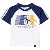 Original Penguin Bright White Infants Raglan Tee