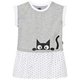 Karl Lagerfeld Kids Grey Karl Print Jersey Dress