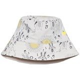The Bonnie Mob Sunny Bunny Print Printed Reversible Sun Hat