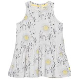 The Bonnie Mob Sunny Bunny Print Printed Sleeveless Dress
