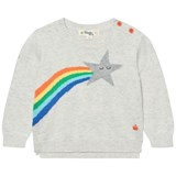 The Bonnie Mob Shooting Star Rainbow Intarsia Sweater