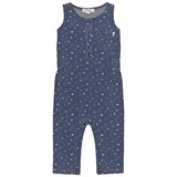 The Bonnie Mob Indigo Terry Sleeveless Jumpsuit