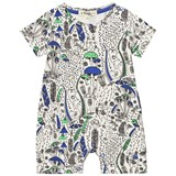 The Bonnie Mob Blue Wilderness Printed Shorty Playsuit