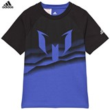 adidas Blue Messi Graphic Tee