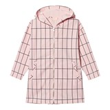 Tinycottons Pale Pink/Dark Navy Big Grid Oversized Wv Jacket