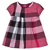 Burberry Pink Classic Check Dress