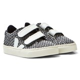 Veja Black and White Esplar Small Velcro