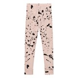 NUNUNU Powder Pink Splash Leggings