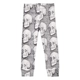 NUNUNU Grey Md Skull Leggings