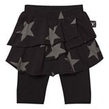 NUNUNU Black Star Skirt Leggings
