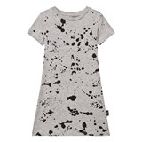NUNUNU Heather Grey Splash A Dress
