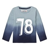 Minymo Blue Ombre 78 Long Sleeve Tee