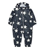 Ticket To Heaven Total Eclipse Blue Rain Suit Kody Authentic Rubber Allover