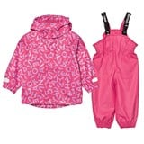 Ticket To Heaven Magenta Pink 2pcs Authentic Rubber Rain Set