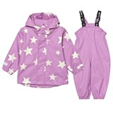 Ticket To Heaven Violet Rose 2pcs Authentic Rubber Rain Set