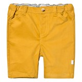 The Little Tailor Mustard Chino Shorts