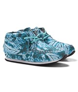 AKID Blue Camo Shoes