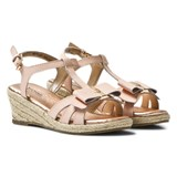 Michael Kors Pink Zia Cate Alexa Wedge Sandals