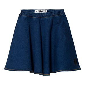 THE BRAND | The BRAND Stonewashed Blue Maxi Skirt 92/98 Cm | Goxip