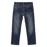 BOSS Blue Mid Wash Skinny Fit Jeans