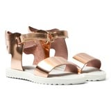 Step2wo Rose Gold Patent Dreda Winged Sandals