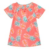 Sunuva Neon Pineapple Kaftan Dress