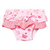 Sunuva Infants Pink Mini Cupcake Frill Nappy Pants