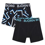 Bjorn Borg 2 Pack of Printed and Solid Trunks