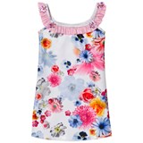 Pate de Sable Cristal Floral Print Frilly Sundress