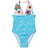 Pate de Sable Flower Crochet Applique Swimsuit