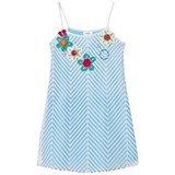 Pate de Sable Flower Crochet Applique Sundress