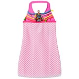 Pate de Sable Pink Hippie Beaded Sundress