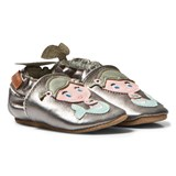 Melton Silver Mermaid Leather Shoes