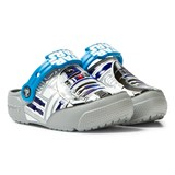 Crocs Kids Ocean/Light Grey Crocs Fun Lab Lights R2D2 Clogs