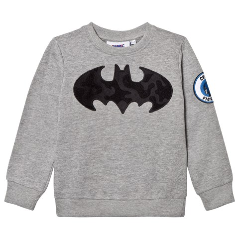 Fabric Flavours Batman Interchangeable Badge Sweatshirt