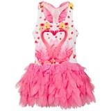 Kate Mack - Biscotti Pink Flamingo Print Tutu Dress