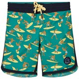 O'Neill Green Surf Patch Boardshorts
