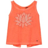 O'Neill Fluoroescent Peach Cooler Graphic Tank Top