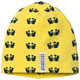 Geggamoja Yellow Limited Edition Cats Hat