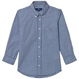 Gant Navy and White Gingaham Shirt