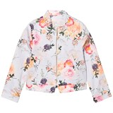 Oh...My! Lilac Botanical Floral Bomber