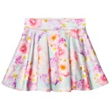 Oh...My! Blue and Pink Gilded Rose Skirt