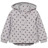Noa Noa Miniature Gull Gray Mini Printed Spring Wear Jacket
