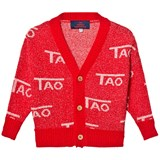 The Animals Observatory Red Mantis Kids Cardigan