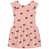 The Animals Observatory Pink Fruit Sparrow Kids Dress