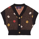The Animals Observatory Black Horsefly Kids Cardigan