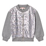 Anne Kurris Grey Sequin Bomber Jacket