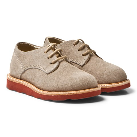 Young Soles Stone Suede Alfie Derby Shoes