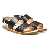 Angulus Black Junior Sandals